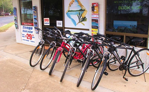 Hervey Bay bikes for hire