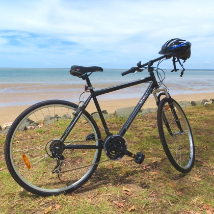 Bicycles for hire in Hervey Bay